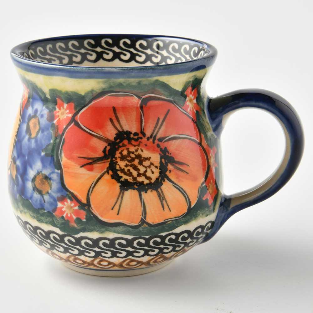 波蘭陶 滿城絕艷系列 胖胖杯 馬克杯 咖啡杯 水杯 茶杯 250ml 波蘭手工製