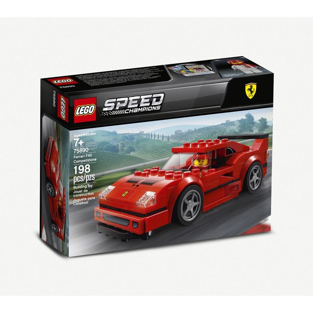 【預購 英國直寄免運費 】LEGO 樂高 ️ Speed Champion 法拉利 F40 跑車 賽車 75890