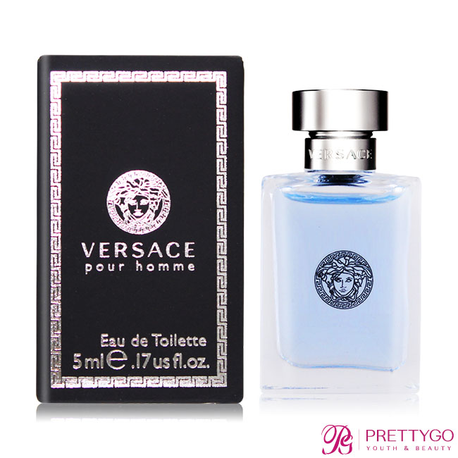Versace Pour Homme 經典男性淡香水(5ml) EDT-國際航空版【美麗購】