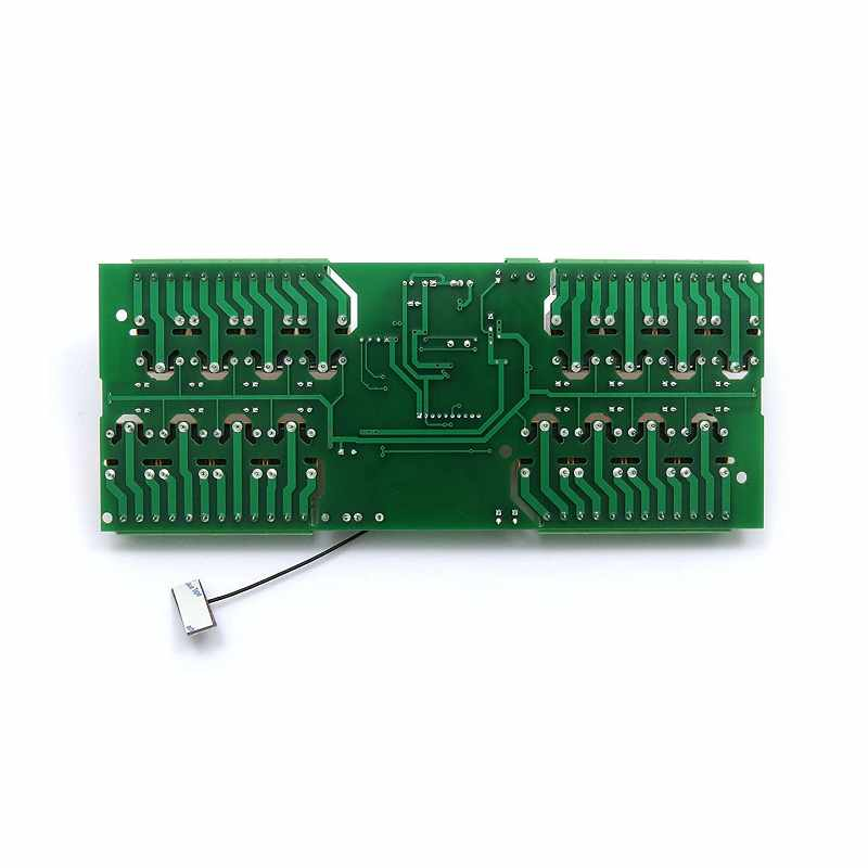 Denkovi WiFi 16 Relay Module, TCP/IP, UDP, Virtual Serial Port - PCB, 12V B06WLKPQXN [2美國直購]