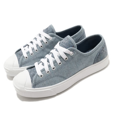 Converse 休閒鞋 Jack Purcell 運動 男女鞋 開口笑 基本款 簡約 情侶穿搭 舒適 藍 白 169614C 169614C