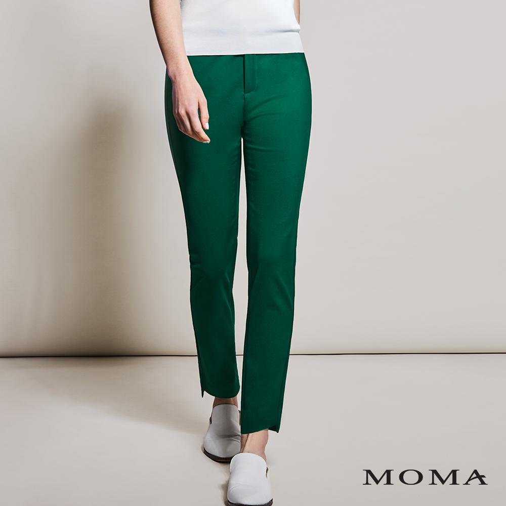 MOMA(01P071)織帶細節九分褲