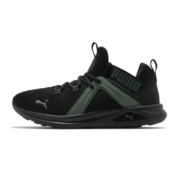 PUMA ENZO 2 男款黑綠運動休閒鞋- NO. 19324912