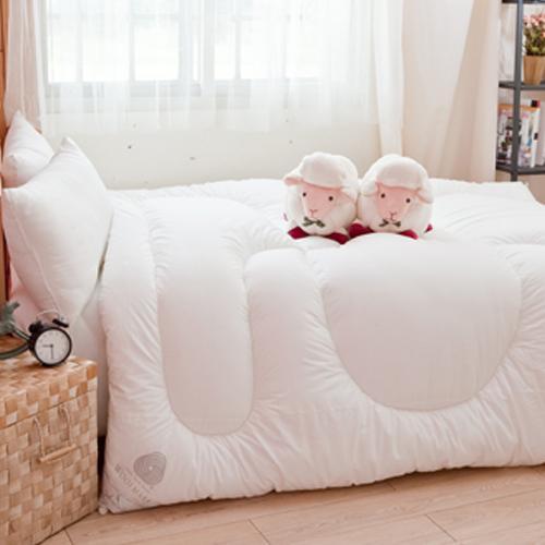 安娜貝兒 100%紐西蘭進口羊毛棉被2.6kg(雙人)【愛買】