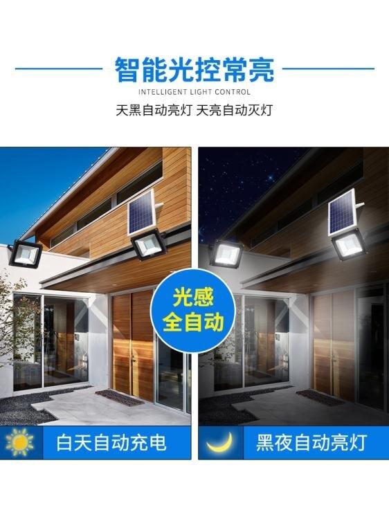 太陽能戶外燈 庭院一拖二1000W家用室內新農村照明超亮防水路