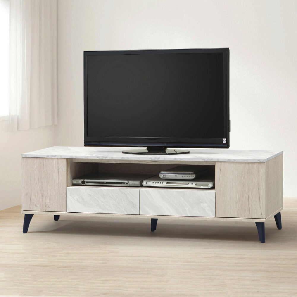 【MUNA】白橡色5尺電視櫃/長櫃(B555)