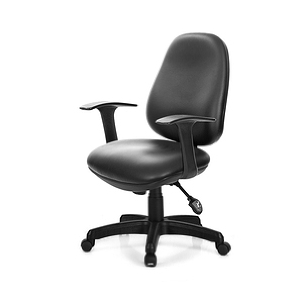 GXG 低背泡棉 電腦椅 (固定扶手) TW-8119 E