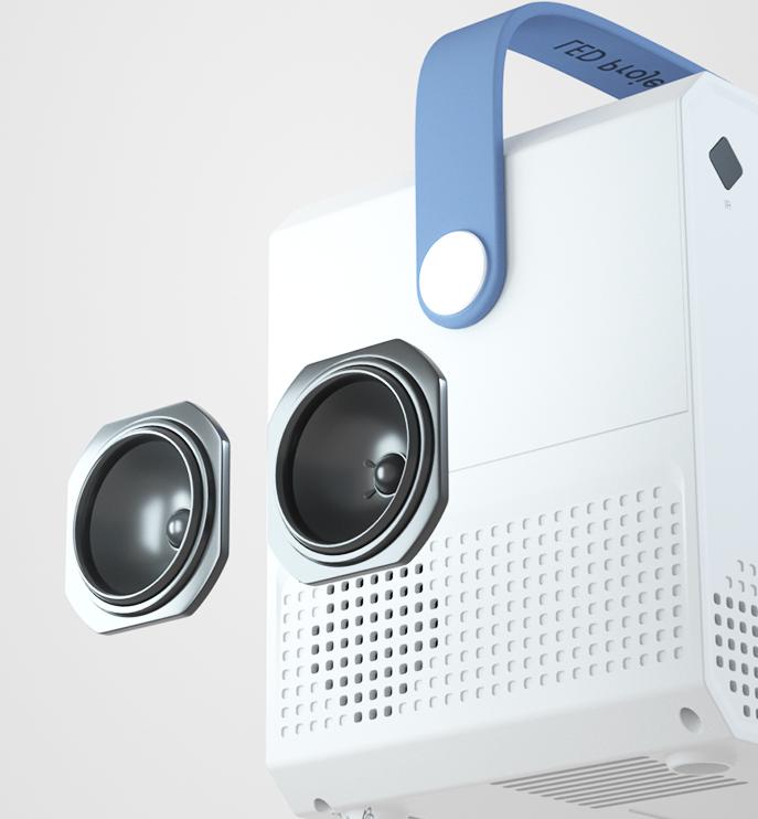 新款投影儀家用4K超高清智能家庭影院便攜牆上看電影1080p牆投手機一體機微小型迷你學生宿舍臥室電視投影機   ZH30
