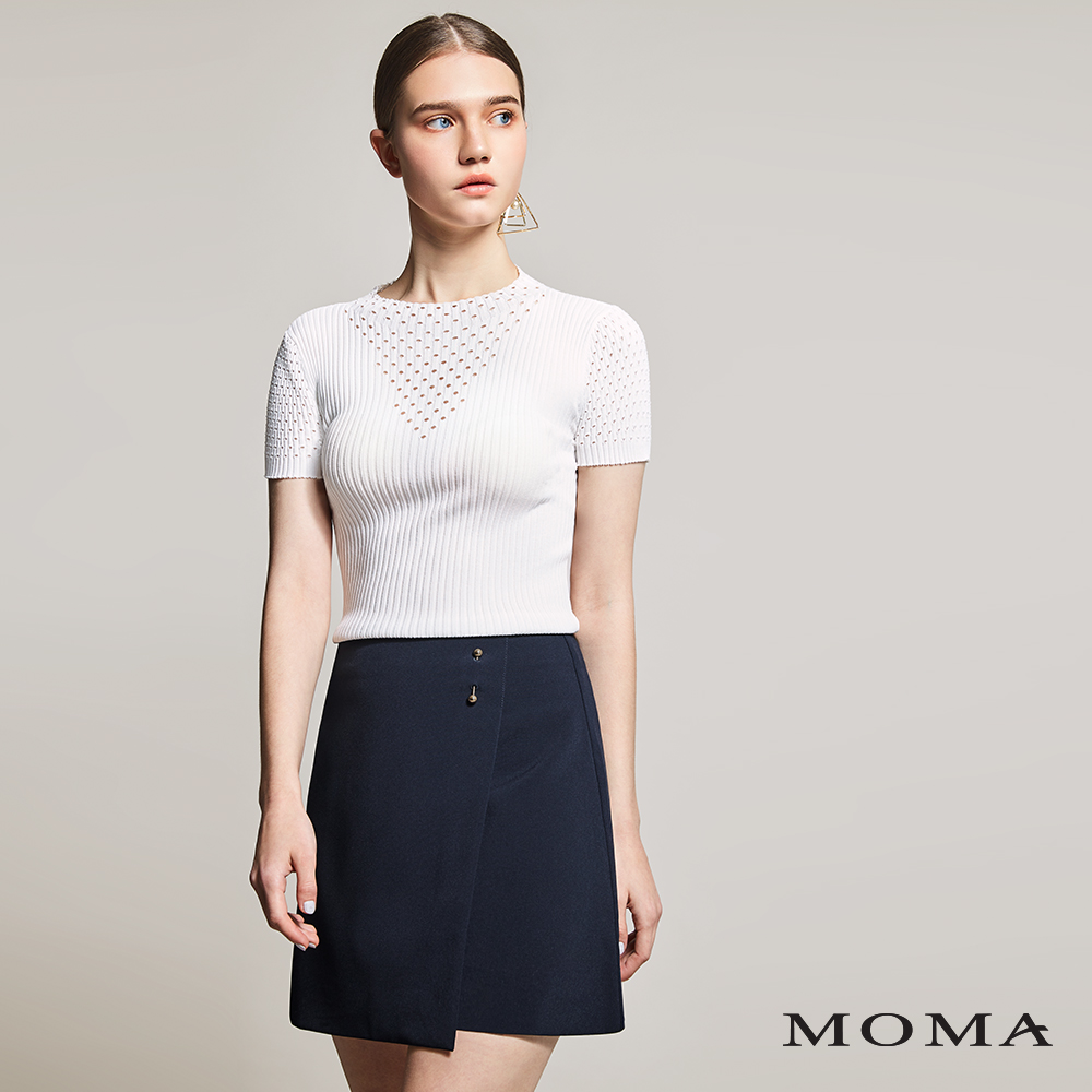 MOMA(01S061)金屬別飾造型裙