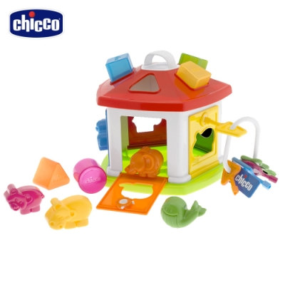 chicco-新動物鑰匙屋