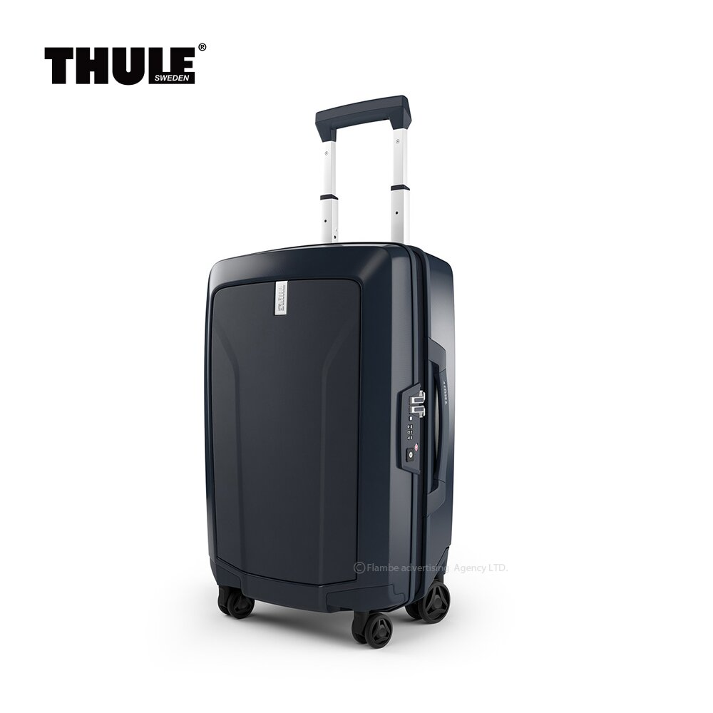 都樂Thule Revolve Carry On Spinner 22吋硬殼行李箱 -深藍-2年原廠保固