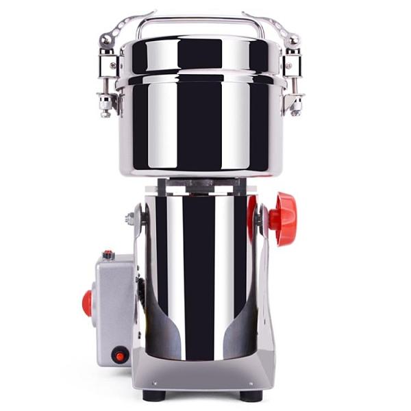 中藥材粉碎機器家用小型鋼磨粉機五谷干磨打粉機破超細商用研磨機 安雅家居館