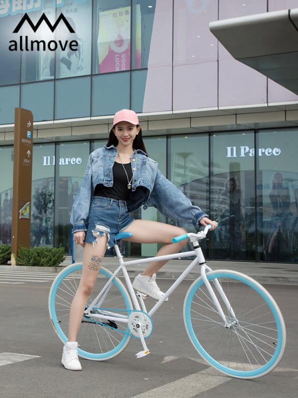 自行車倒剎輕便單車腳踏車男女學生大人