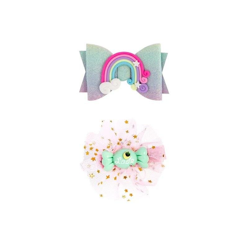 MiniTutu 主題髮飾禮盒-異想世界(獨角獸)★衛立兒生活館★