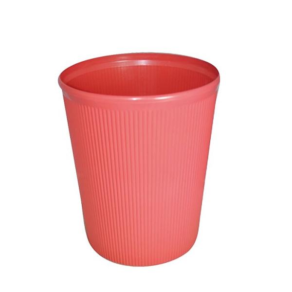 本色 玫瑰紙林(垃圾桶)-大(CY-14) 12L 隨機【康鄰超市】