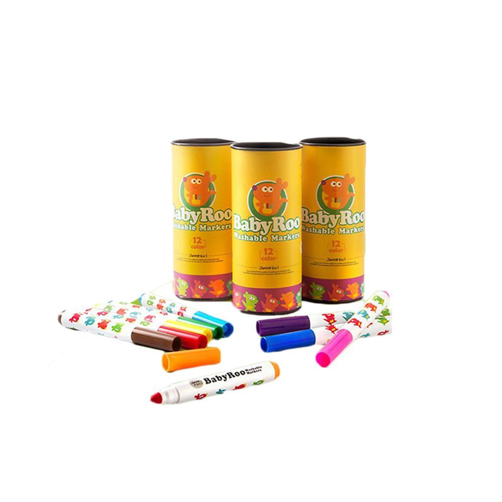 西班牙 JOANMIRO 兒童可水洗彩色筆12色