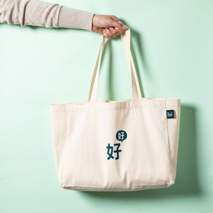 Hoi好好生活帆布購物袋