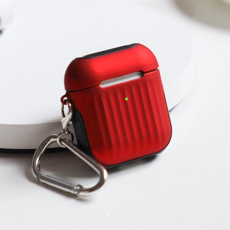 耳機保護套 【光面】蘋果Airpods2保護套airpords3 pro二代airpods1代殼藍芽無線耳機硬盒子皮套防丟繩貼紙電清潔『CM397970』