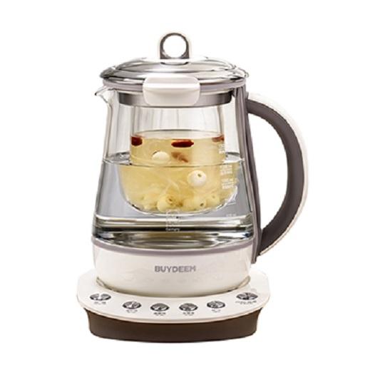 【BUYDEEM】北鼎頂級多功能烹煮壺1.5L(珍珠灰)美顏壺/養生壺/快煮壺