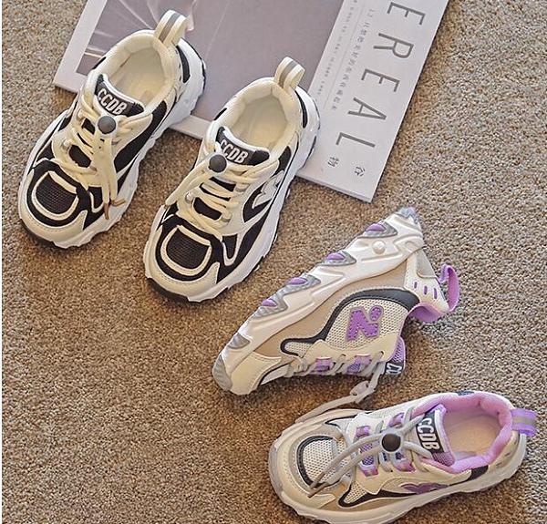 兒童鞋 女童運動鞋2021年秋季新款男童鞋春款休閒鞋子中大童兒童【快速出貨八折下殺】