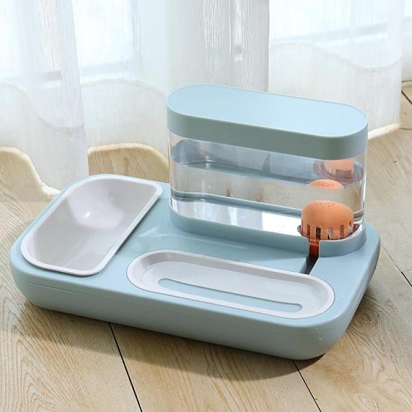 貓咪自動飲水機狗狗喂食器不插電貓喝水神器寵物流動立式自動循環 夢幻小鎮