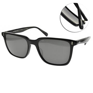 OLIVER PEOPLES 偏光太陽眼鏡 LACHMAN SUN 經典方框款(黑-灰) #OV5419 1005P2