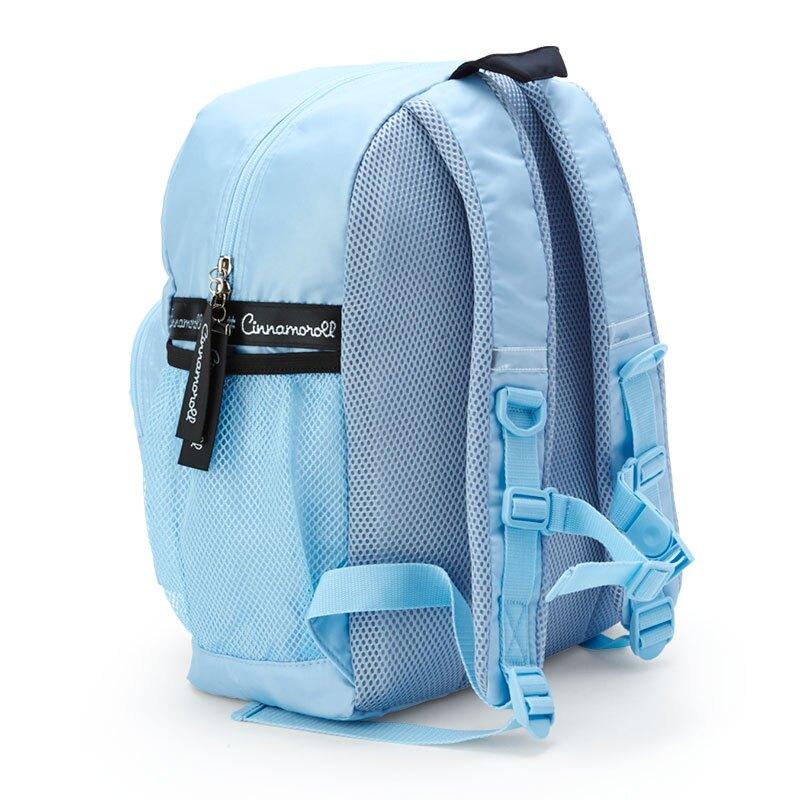 【領券折$120】小禮堂 大耳狗 尼龍雙層後背包 防潑水後背包 休閒背包 書包 14L (藍 愛心框)