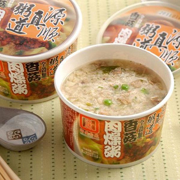 【南紡購物中心】源順.真粥道香菇肉燥粥(60g/碗,共12入)