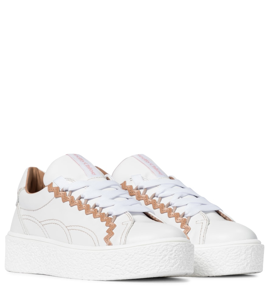 Sevy leather sneakers