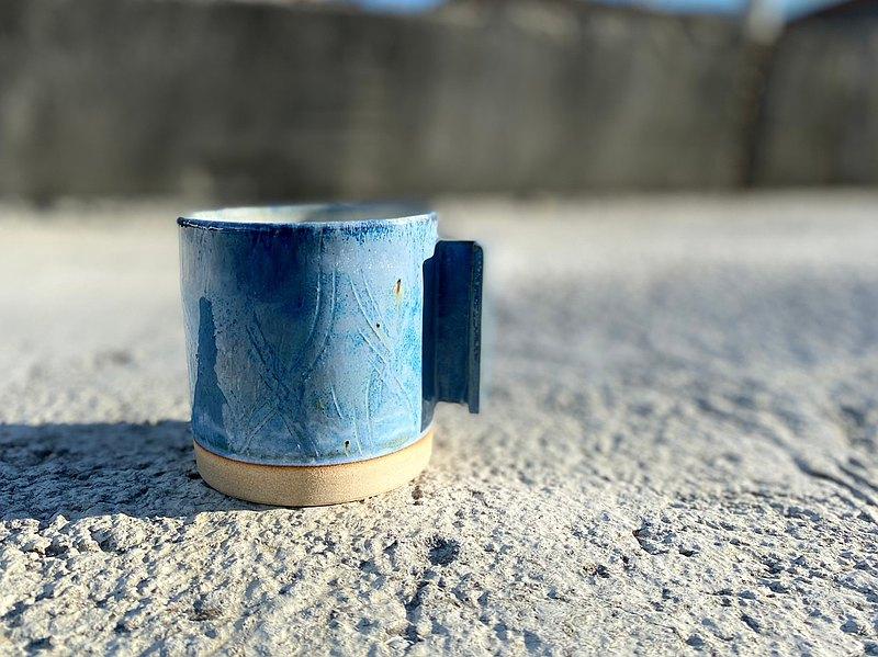 寒冬與她-手作陶瓷咖啡杯