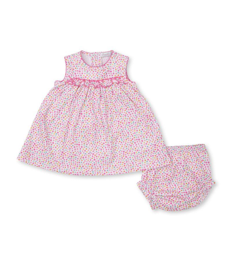 Kissy Kissy Cotton Floral Print Dress (0-24 Months)