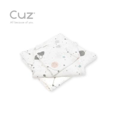 Cuz 有機棉紗布巾好望角觀星(紗布巾)30cm(2入)