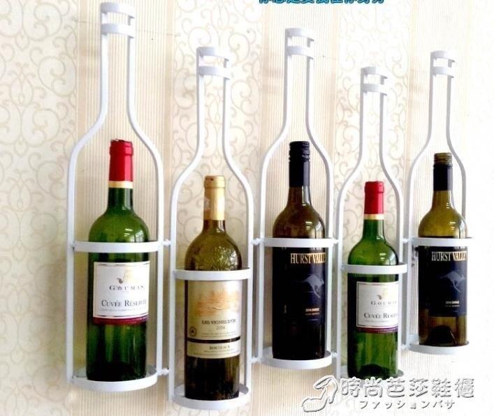 紅酒架 創意美式鐵藝酒架壁掛牆上牆壁酒櫃酒架吧臺壁掛式紅酒架酒杯架