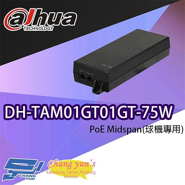 高雄/台南/屏東監視器 大華 DH-TAM01GT01GT-75W PoE Midspan 球機專用