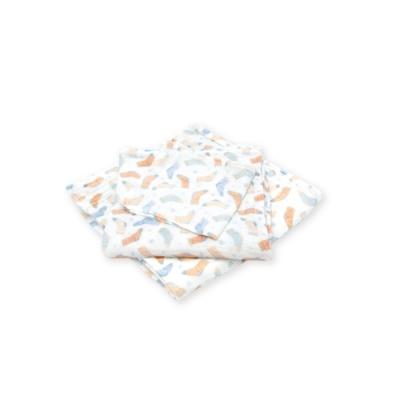 Cuz 有機棉紗布巾襪子協奏曲(紗布巾)30cm(2入)