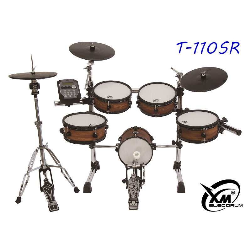 【XM eDrum 電子鼓】T-110SR 電子鼓組 全網面 電子鼓 類真鼓 爵士鼓【XM電子鼓】