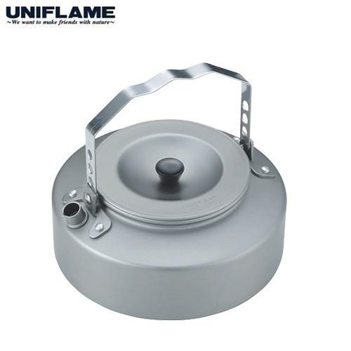 UNIFLAME 日式扁水壺/露營茶壺 700ML U667729