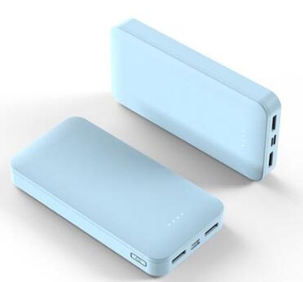 行動電源 20000毫安大容量充電寶超薄鏡面移動電源【快速出貨八折下殺】