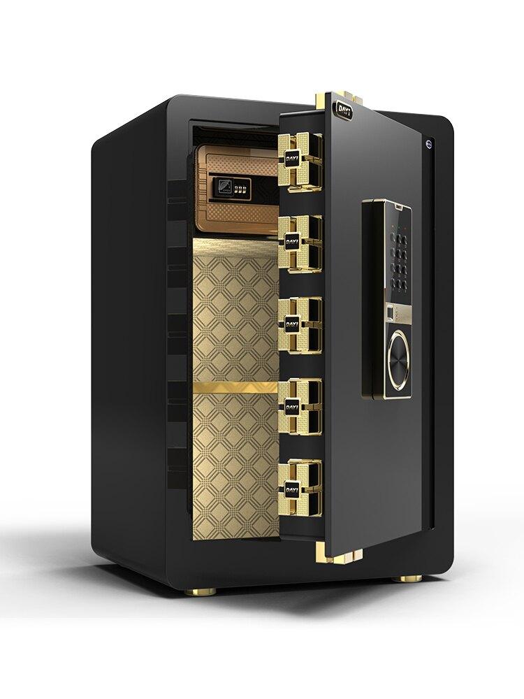 保險箱 保險櫃 家用小型45cm 60cm高隱形防盜床頭入牆全鋼迷你帶鎖電子保管箱yh