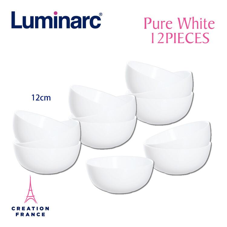 luminarc 樂美雅純白12入碗組