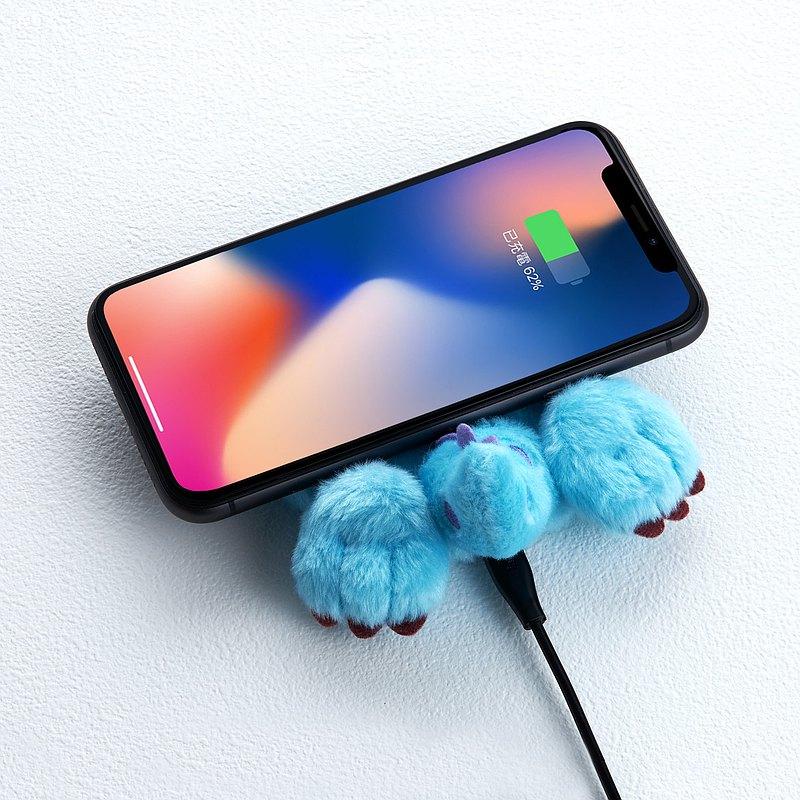 InfoThink怪獸電力公司系列毛怪電臀無線充電座