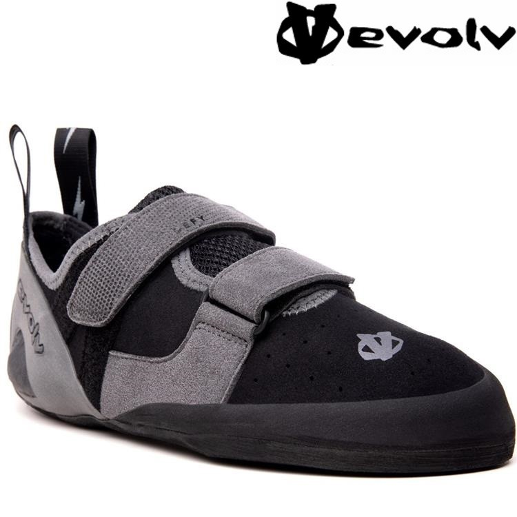 Evolv Defy 攀岩鞋/抱石鞋 黑Black/Grey 特價款
