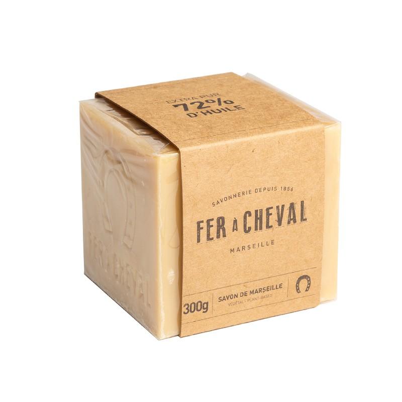 Fer à Cheval 法拉夏 經典馬賽皂(植物油-方形) 300g【新高橋藥妝】