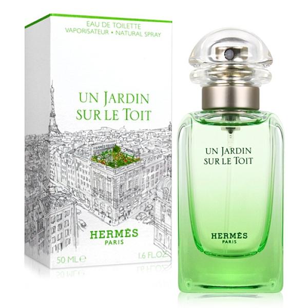 HERMES 愛馬仕 屋頂上的花園中性淡香水(50ml)【ZZshopping購物網】
