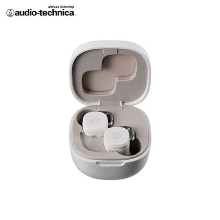 鐵三角 小巧繽紛真無線耳機ATH-SQ1TW-WH-白色