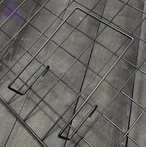 照片墻 網格置物架照片墻掛籃掛架收納袋 房間宿舍裝飾雜志書本收納架【快速出貨八折搶購】