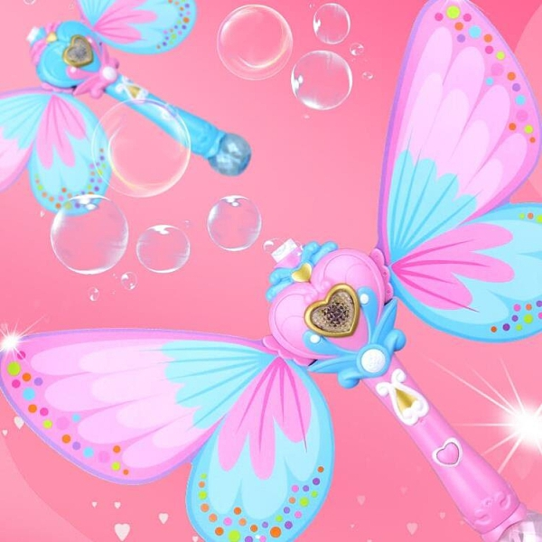 泡泡機 兒童全自動少女心網紅仙女魔法棒電動泡泡槍器玩具【快速出貨八折下殺】