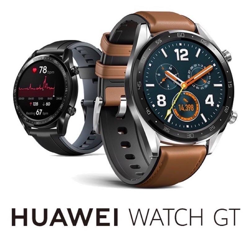 Huawei 華為 Watch GT ELA-B19 GT智慧手錶 黑色雅致款 46mm