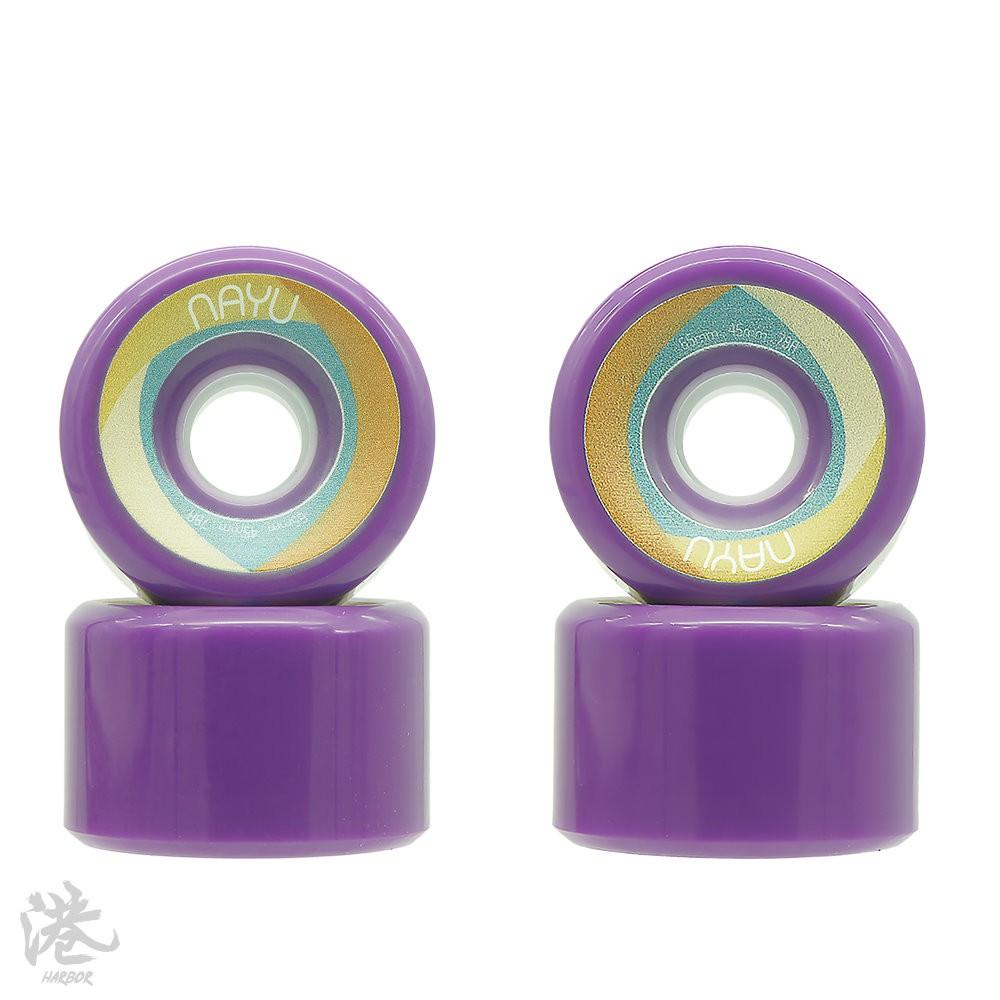 NAYU拿魚 長板輪 65mm/78a 紫色 【Harbor港】