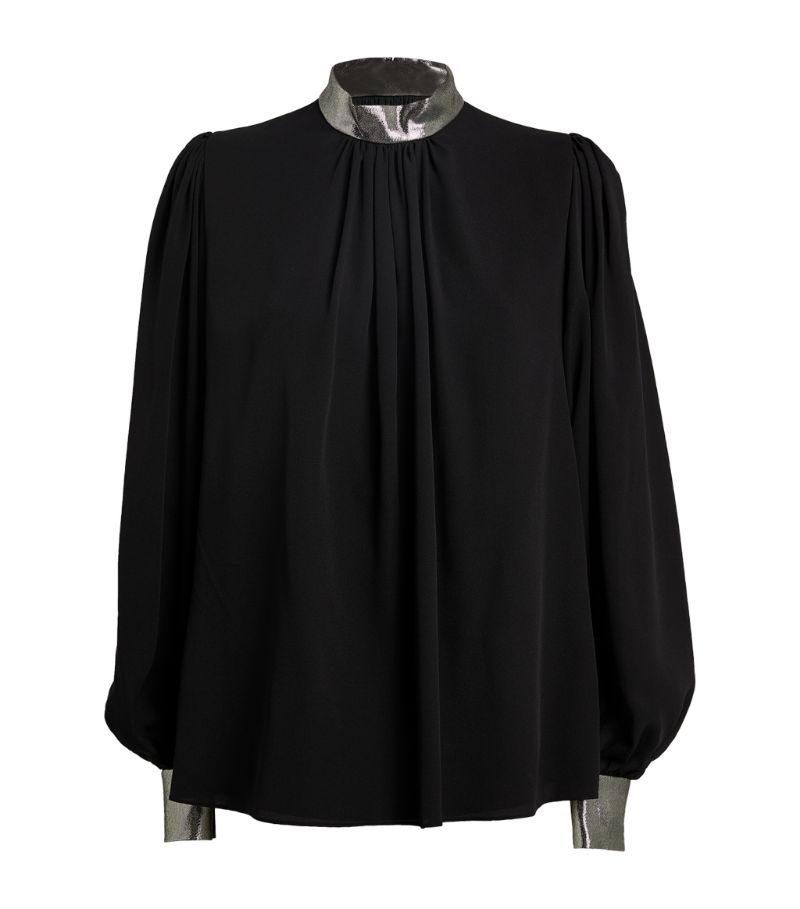 Andrew Gn Balloon-Sleeved Blouse